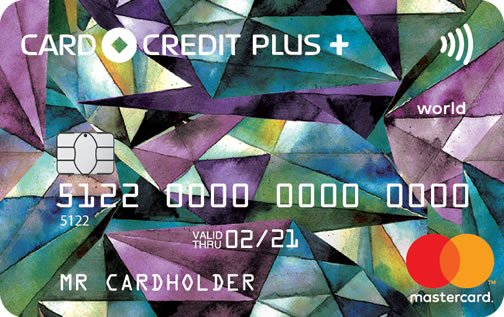 Кредитная карта Card Credit Plus от Кредит Европа Банк (КЕБ) Credit Europe Bank